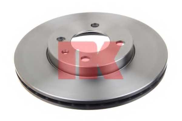 Тормозной диск NK 209934 - изображение