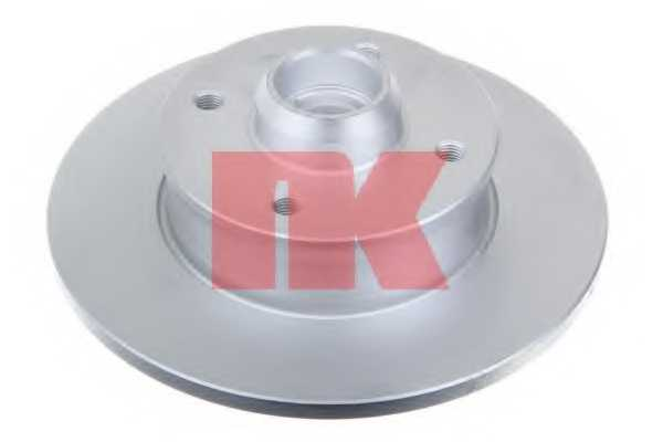 Тормозной диск NK 209935 - изображение