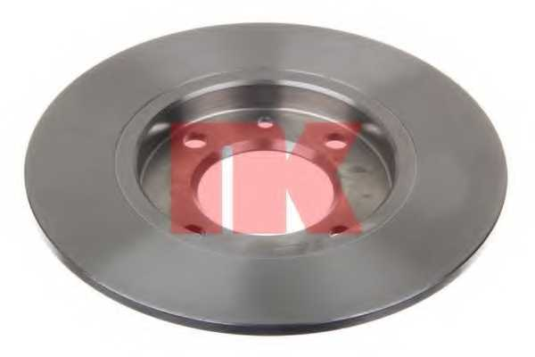 Тормозной диск NK 209947 - изображение
