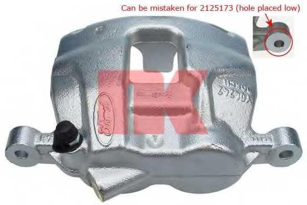 Тормозной суппорт NK 2125169 - изображение