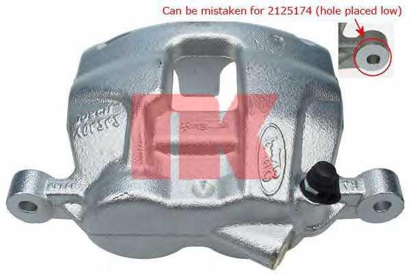 Тормозной суппорт NK 2125170 - изображение
