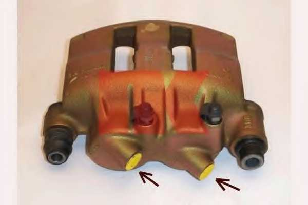 Тормозной суппорт NK 2136104 - изображение