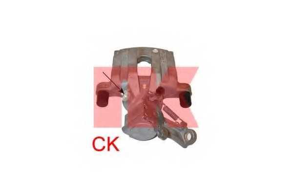 Тормозной суппорт NK 213697 - изображение