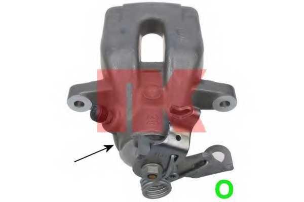 Тормозной суппорт NK 213750 - изображение