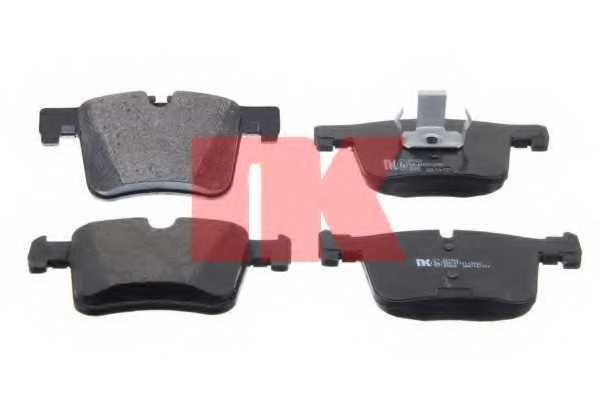Колодки тормозные дисковые NK 221552 - изображение