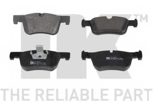 Колодки тормозные дисковые для BMW 1(F20,F21), 3(F30,F31,F34,F35,F80), 4(F32,F33,F36,F82,F83) / OPEL MANTA(53#,55#) <b>NK 221554</b> - изображение