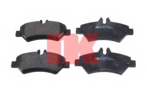 Колодки тормозные дисковые NK 223363 - изображение