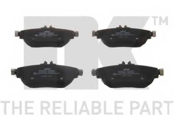 Колодки тормозные дисковые NK 223371 - изображение 1