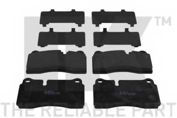 Колодки тормозные дисковые для AUDI Q7(4L), R8 <b>NK 2247115</b> - изображение