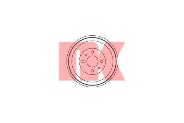 Тормозной барабан NK 251001 - изображение