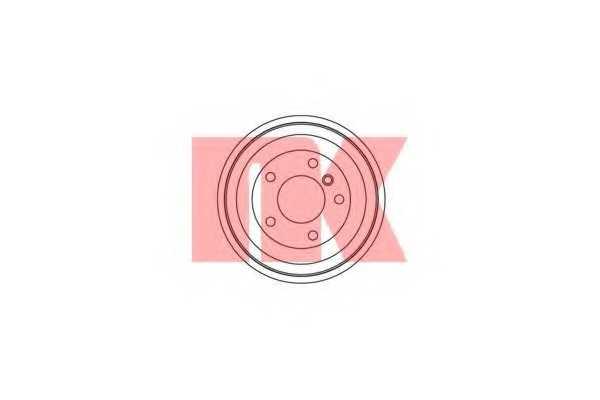 Тормозной барабан NK 251505 - изображение