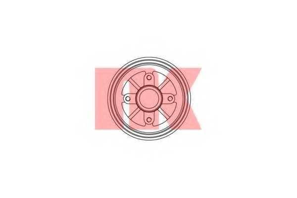 Тормозной барабан NK 251904 - изображение