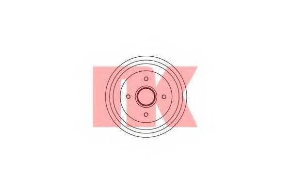 Тормозной барабан NK 251907 - изображение