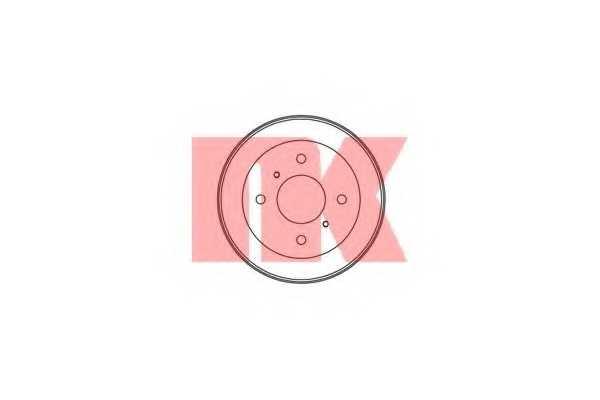 Тормозной барабан NK 252221 - изображение