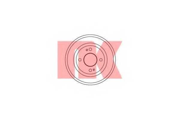 Тормозной барабан NK 252603 - изображение