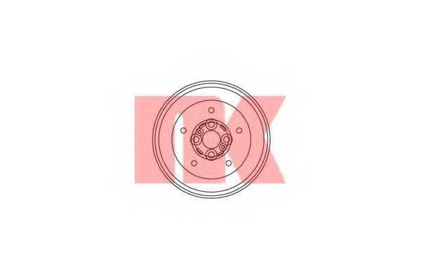 Тормозной барабан NK 253505 - изображение