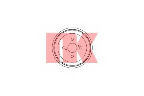 Тормозной барабан NK 254509 - изображение