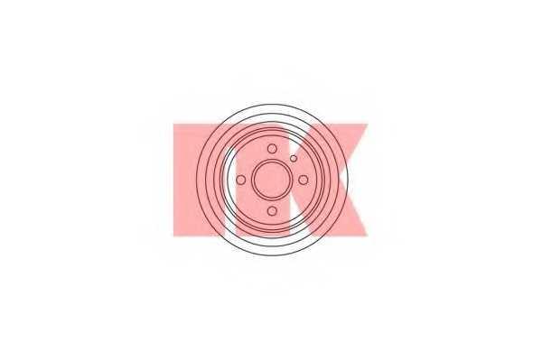 Тормозной барабан NK 259905 - изображение