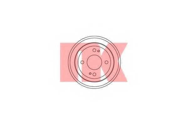 Тормозной барабан NK 259908 - изображение