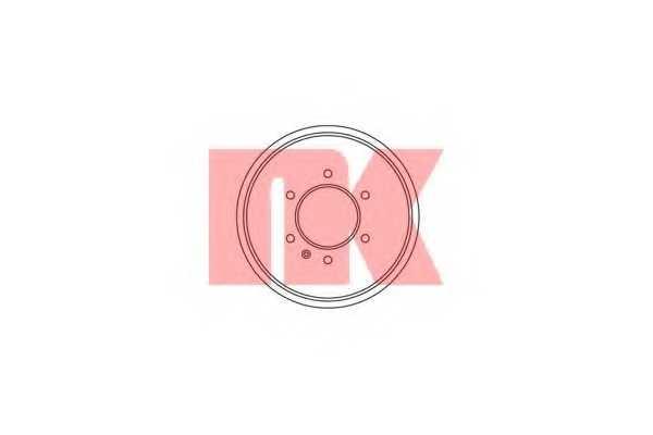 Тормозной барабан NK 261401 - изображение