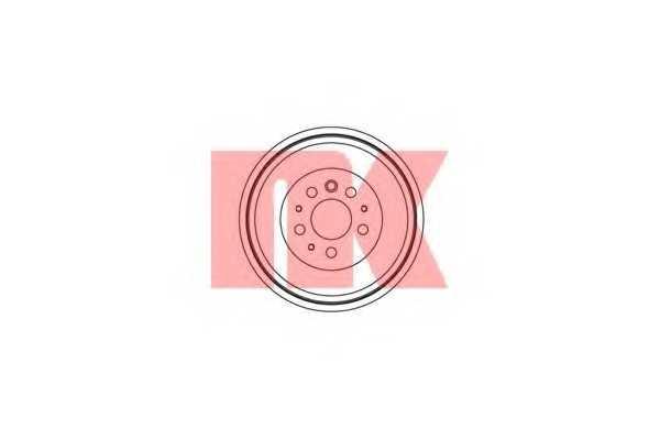 Тормозной барабан NK 264709 - изображение