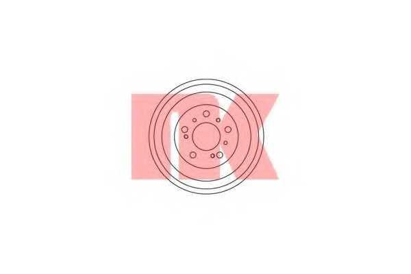 Тормозной барабан NK 269906 - изображение