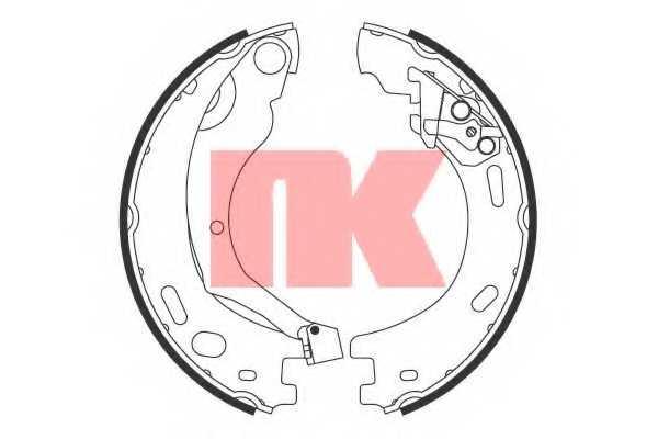 Комплект колодок стояночной тормозной системы NK 2712769 - изображение