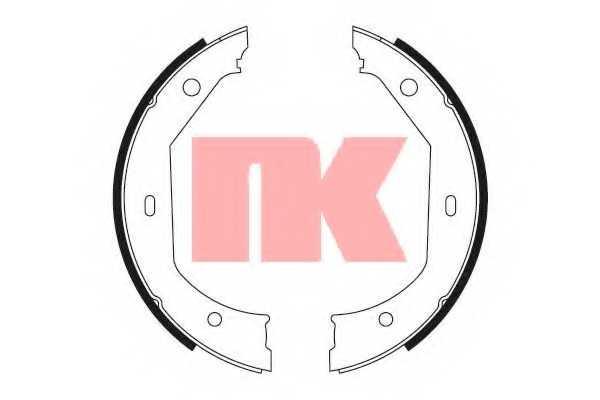 Комплект тормозных колодок для BMW 1(E81, E82, E87, E88), 3(E46, E90, E91, E92, E93, F30, F31, F34, F35, F80), 4(F32, F33, F36, F82, F83), 5(E39), X1(E84) <b>NK 2715638</b> - изображение