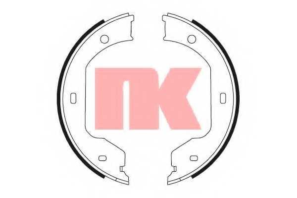 Комплект тормозных колодок NK 2715695 - изображение
