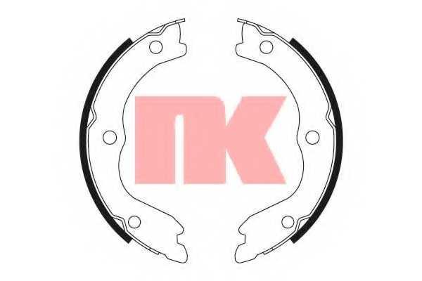 Комплект колодок стояночной тормозной системы NK 2722719 - изображение