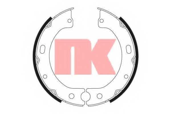 Комплект колодок стояночной тормозной системы NK 2722720 - изображение
