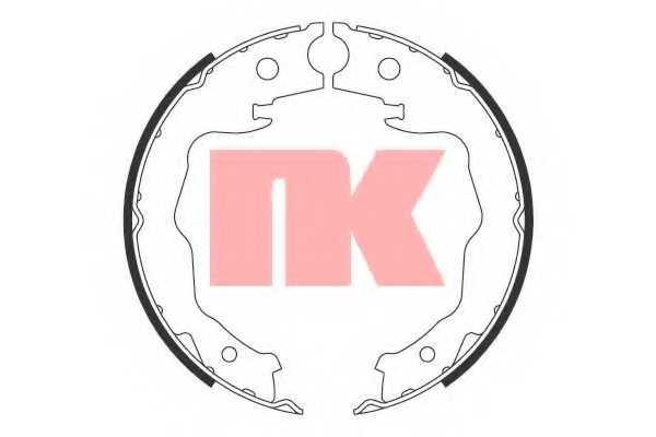 Комплект колодок стояночной тормозной системы NK 2722777 - изображение