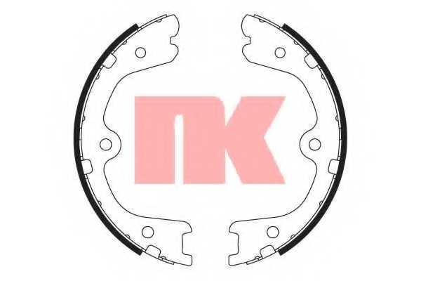 Комплект колодок стояночной тормозной системы NK 2722798 - изображение