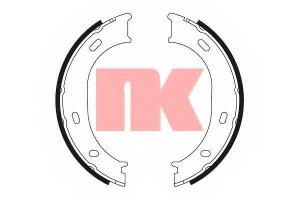 Комплект колодок стояночной тормозной системы NK 2733663 - изображение