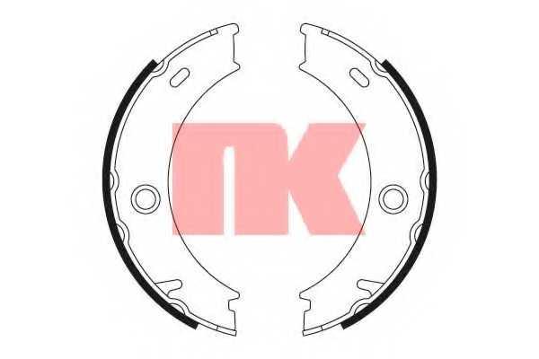 Комплект колодок стояночной тормозной системы NK 2733678 - изображение
