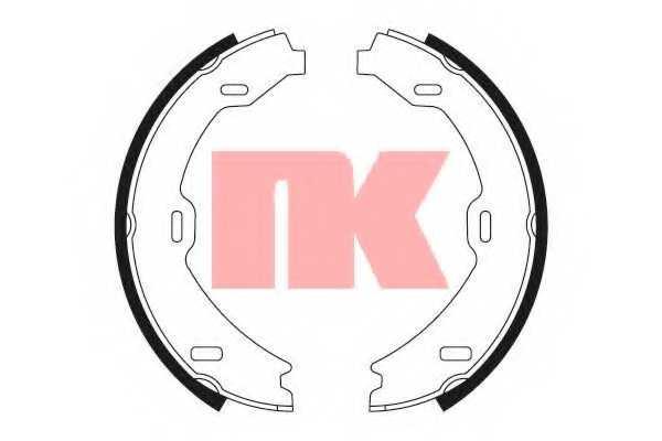 Комплект колодок стояночной тормозной системы NK 2733714 - изображение