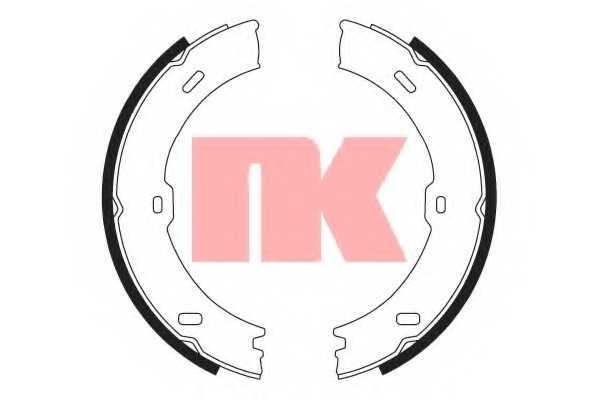 Комплект колодок стояночной тормозной системы NK 2733782 - изображение