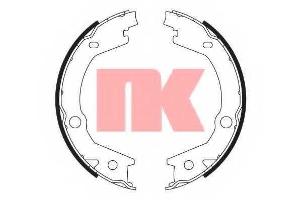 Комплект колодок стояночной тормозной системы NK 2734745 - изображение