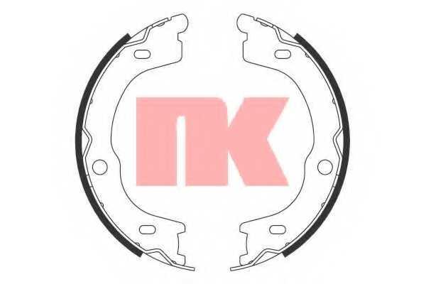 Комплект колодок стояночной тормозной системы NK 2735791 - изображение