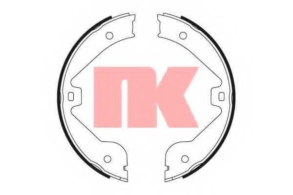 Комплект колодок стояночной тормозной системы NK 2747723 - изображение