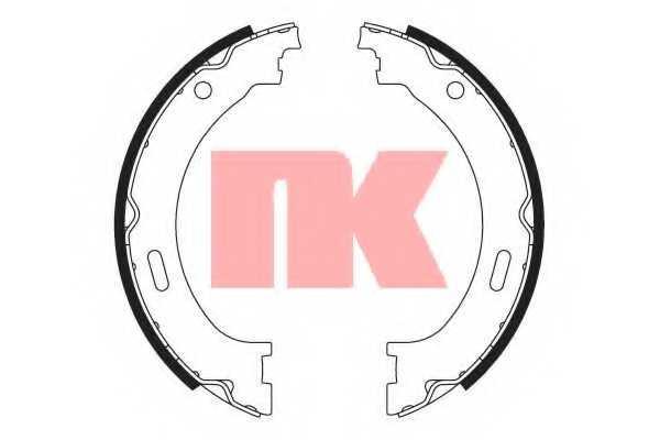 Комплект колодок стояночной тормозной системы NK 2793805 - изображение