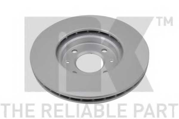 Тормозной диск NK 313537 - изображение 1