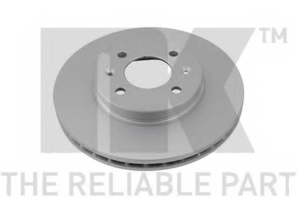 Тормозной диск NK 313537 - изображение