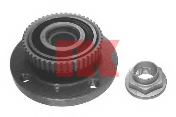 Комплект подшипника ступицы колеса NK 751506 - изображение
