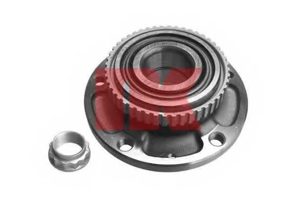 Комплект подшипника ступицы колеса NK 751508 - изображение