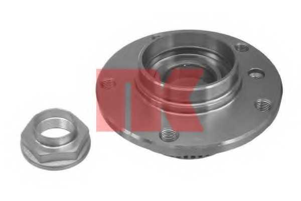 Комплект подшипника ступицы колеса NK 751509 - изображение