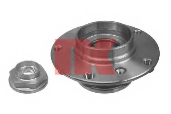 Комплект подшипника ступицы колеса NK 751512 - изображение