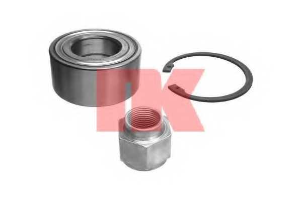 Комплект подшипника ступицы колеса NK 751909 - изображение