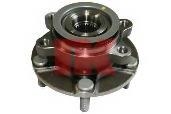 Комплект подшипника ступицы колеса NK 752233 - изображение