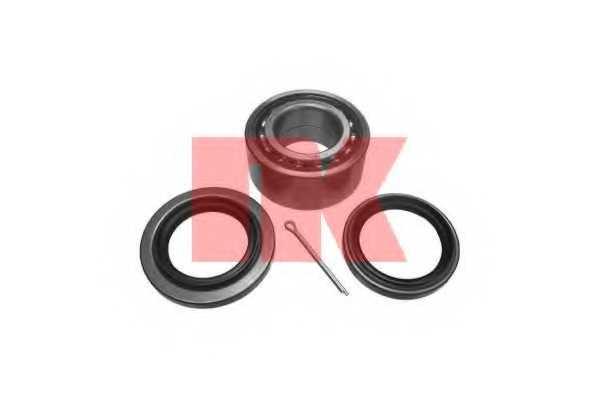 Комплект подшипника ступицы колеса NK 753007 - изображение